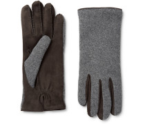 Gregory Cashmere And Suede Gloves