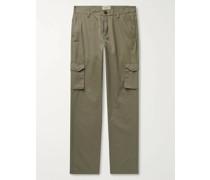 Cotton-Ventile Cargo Trousers