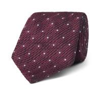 8cm Polka-dot Silk-jacquard Tie