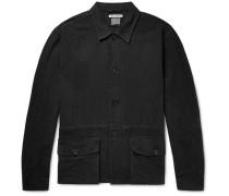 Linen And Cotton-blend Shirt Jacket