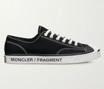 + Converse 7 Moncler Fraylor II Logo-Print Canvas Sneakers