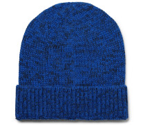 Layover Mélange Baby Alpaca And Organic Cotton-blend Beanie