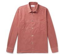 Stretch-Cotton Needlecord Shirt