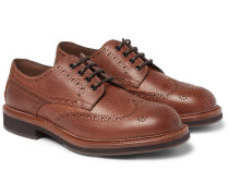 Full-grain Leather Wingtip Brogues