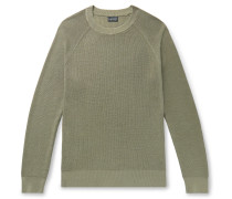 Garment-Dyed Cotton Sweater