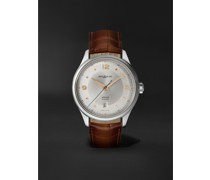 Heritage Automatic 40mm Stainless Steel and Alligator Watch, Ref. No. 128672