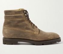 Alder Waxed-Suede Boots