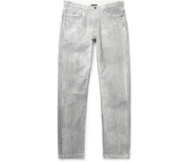 The Daze Skinny-Fit Paint-Splattered Denim Jeans