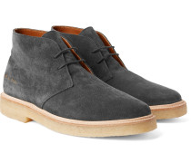 Washed-suede Desert Boots