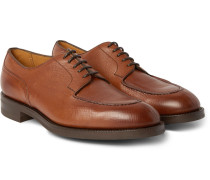 Dover Grained-leather Derby Shoes