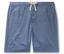 Townsend Striped Cotton Pyjama Shorts
