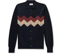 Roxwell Intarsia Wool Cardigan