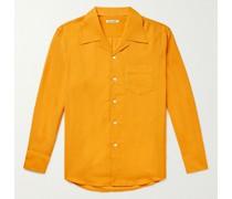 Loco Camp-Collar Woven Shirt