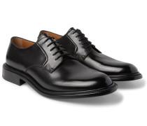 Felix Polished-leather Derby Shoes