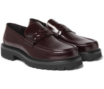 Lordown Polished-leather Loafers