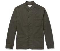 Slim-fit Cotton Field Jacket