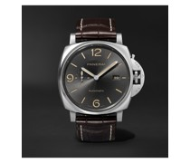 Luminor Due Automatic 45mm Stainless Steel and Alligator Watch, Ref. No. PAM00943