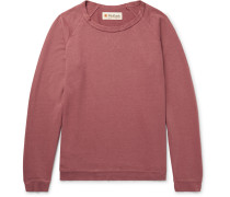 Loopback Hemp And Organic Cotton-blend Jersey Sweatshirt