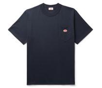 Héritage Logo-Appliquéd Cotton-Jersey T-Shirt