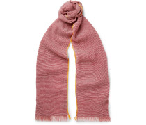Cashmere And Linen-blend Scarf
