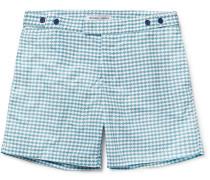 Noronha Slim-fit Mid-length Printed Swim Shorts