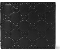 Embossed Leather Billfold Wallet