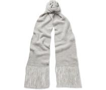 Ribbed Merino Wool Scarf