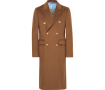 Slim-fit Double-breasted Cashmere Overcoat