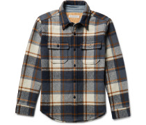 Highland Blanket Checked Woven Overshirt