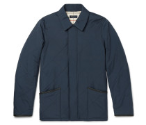 Leather-trimmed Quilted Storm System® Shell Jacket