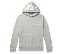 + Everlast Logo-Print Loopback Cotton-Blend Jersey Hoodie