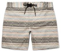Evolution Long-length Printed Econyl Swim Shorts