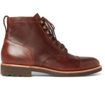 Kenton Cap-toe Leather Boots