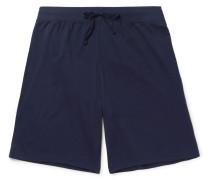 Pima Cotton-jersey Pyjama Shorts