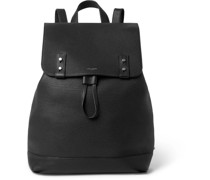 Full-Grain Leather Backpack