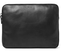 "13"" Grained-leather Portfolio"