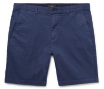 Zaine Stretch-cotton Twill Shorts