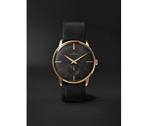 Meister Handaufzug Hand-Wound 37.7mm Stainless Steel and Leather Watch, Ref. No. 027/5903.00