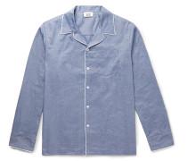 Henry Mercerised Cotton Pyjama Shirt