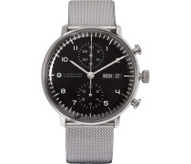 Max Bill Chronoscope 40mm Stainless Steel Watch