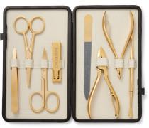 Leather-bound Manicure Set