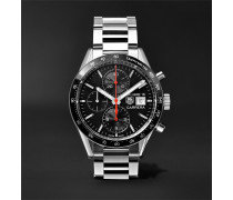 Carrera Automatic Chronograph 41mm Steel Watch