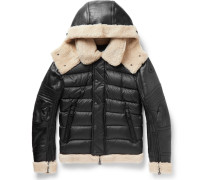 Tancrede Shearling-lined Leather And Quilted Shell Jacket
