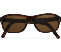 + Cutler And Gross Square-frame Tortoiseshell Acetate Sunglasses