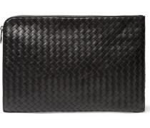 Intrecciato Leather Portfolio