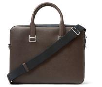 Cadogan Cross-grain Leather Briefcase