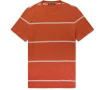 Slim-fit Striped Pima Cotton T-shirt