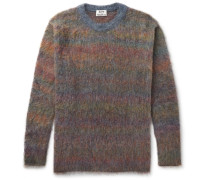 Nikos Oversized Mélange Knitted Sweater