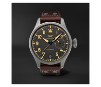 Big Pilot's Heritage Automatic 46.2mm Titanium and Leather Watch, Ref. No. IW501004
