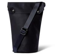 Cotton-Shell Messenger Bag